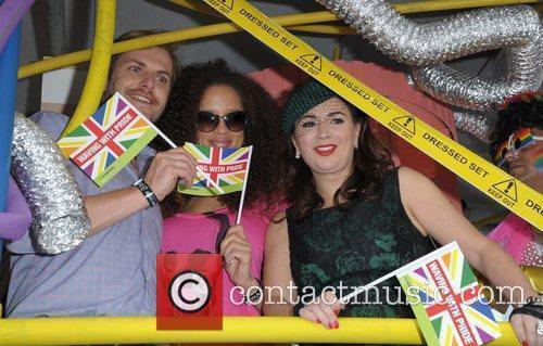 Debbie Rush and Natalie Gumede Manchester Pride 2012...