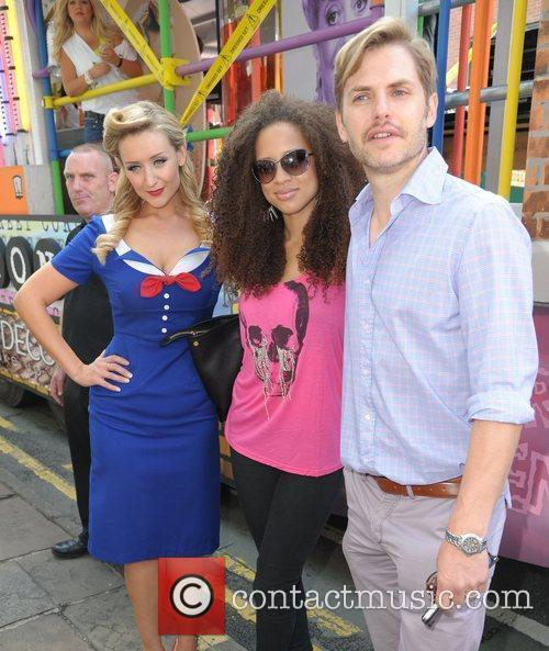 Natalie Gumede and Catherine Tyldesley  Manchester Pride...