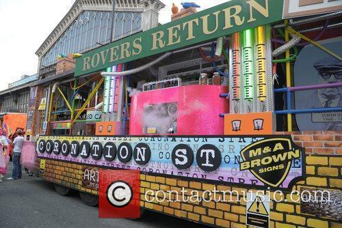 The Coronation Street float  Manchester Pride 2012...