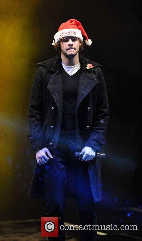 Jay McGuiness of The Wanted Manchester Christmas Lights...