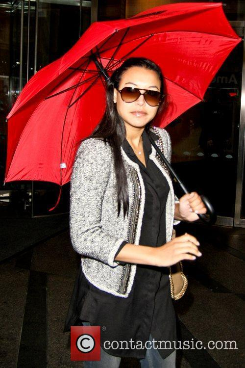 Naya Rivera and Glee 2