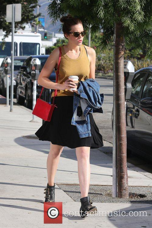 Mandy Moore  seen out and about in...