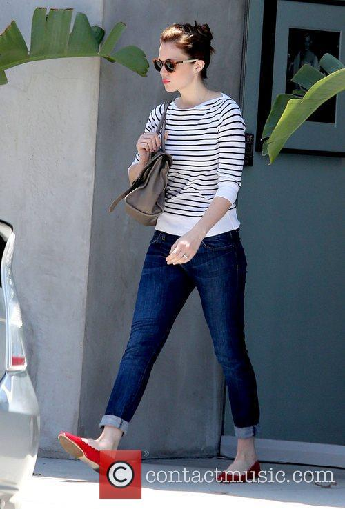 Mandy Moore leaving Bungalow Salon in Beverly Hills...
