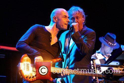 Robert Hart and bass player Steve Kinch...