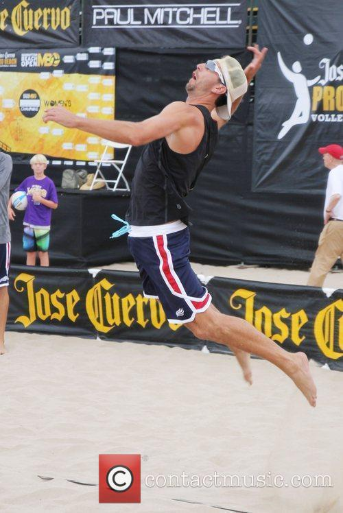 Sean Rosenthal The Manhattan Beach Open Beach Volleyball...