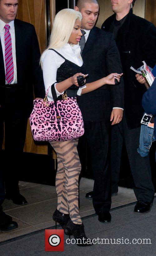 Nicki Minaj and Manhattan Hotel 1