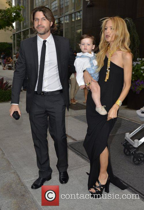 Rachel Zoe with her husband Rodger Berman and...