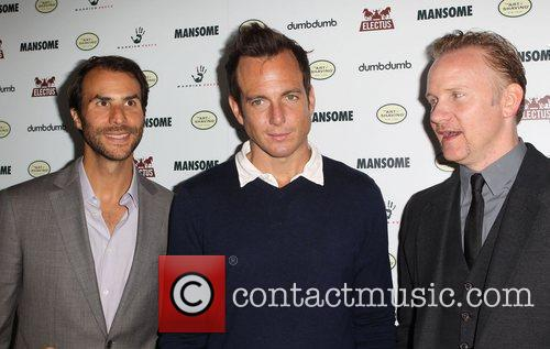 Will Arnett and Morgan Spurlock 3