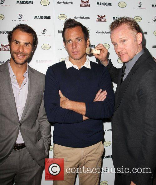 Will Arnett and Morgan Spurlock 7