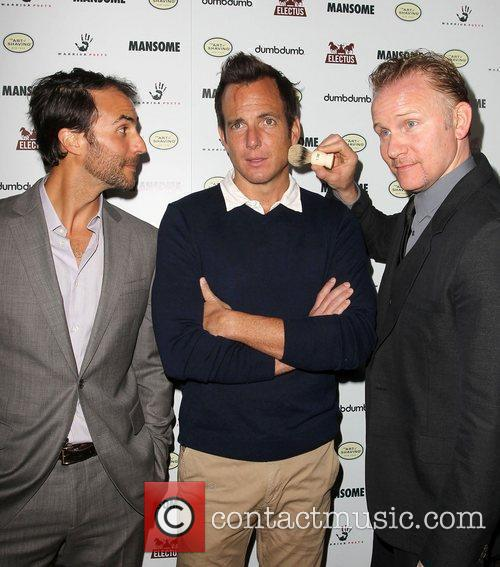 Will Arnett and Morgan Spurlock 8