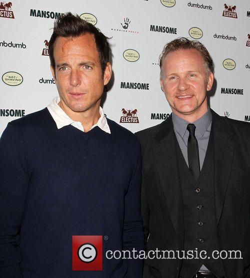 Will Arnett and Morgan Spurlock 9
