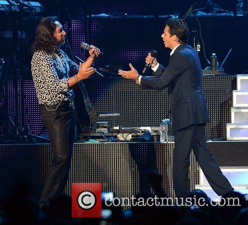 Marco Antonio Solis and Chayanne  performing live...