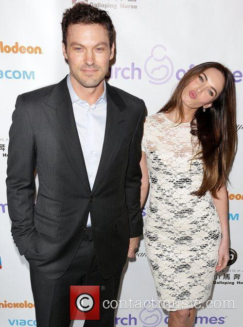 Brian Austin Green and Megan Fox 1