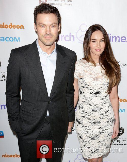 Brian Austin Green and Megan Fox 4