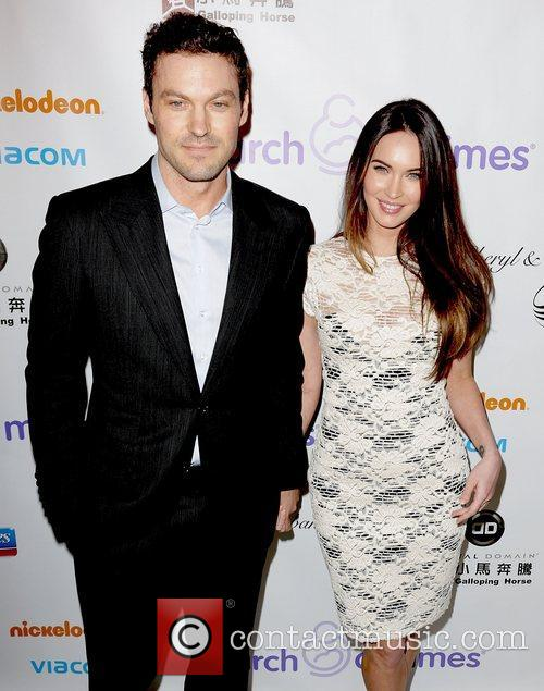 Brian Austin Green and Megan Fox 5