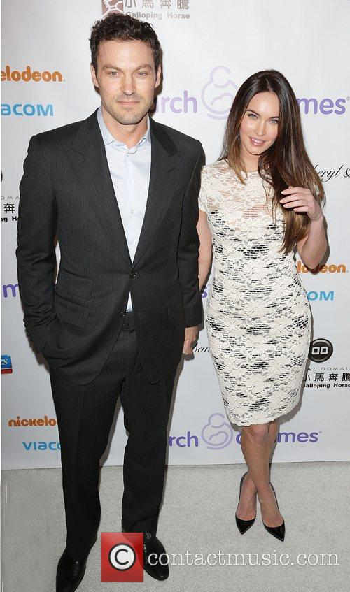 Brian Austin Green and Megan Fox 6