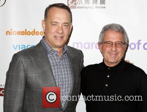 Tom Hanks and Ron Meyer 3