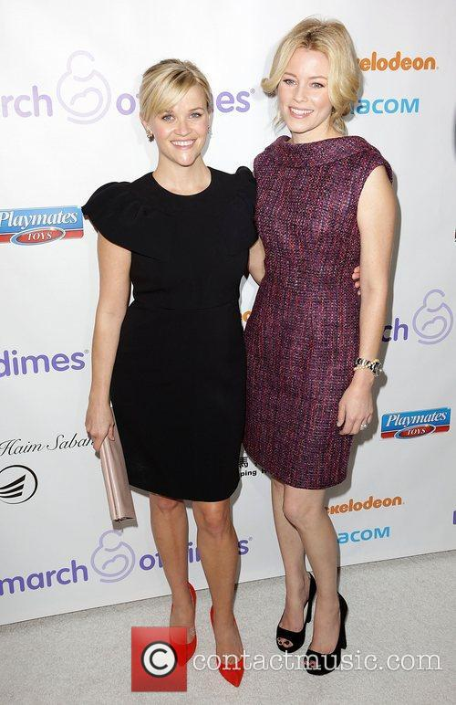 Reese Witherspoon and Elizabeth Banks 10
