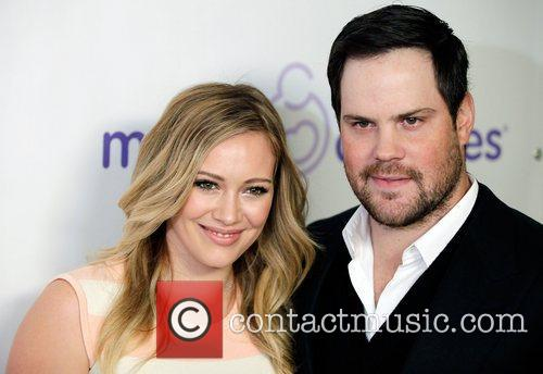 Hilary Duff and Mike Comrie 1