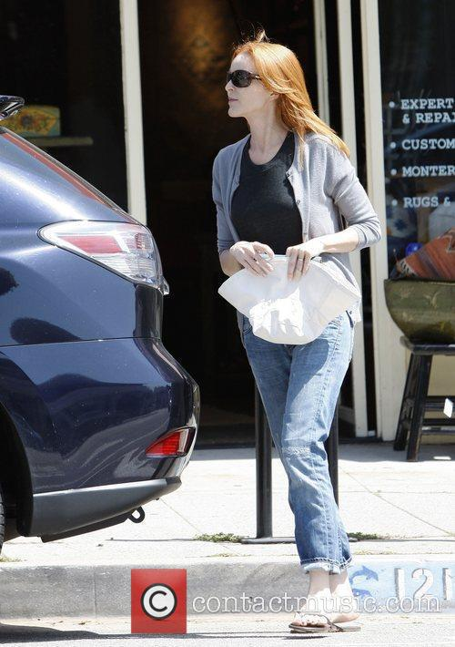 marcia cross out and about in santa 3864594