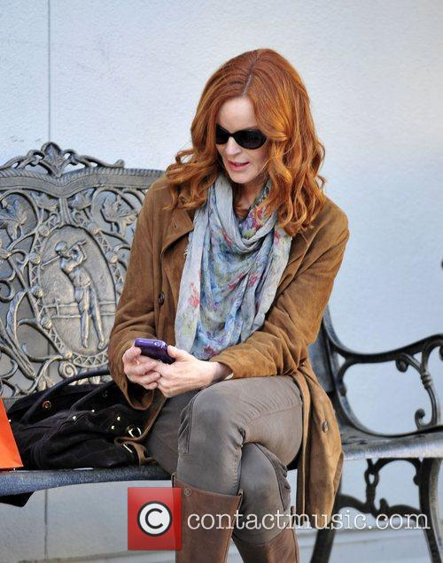 Marcia Cross and Ralph Lauren 6