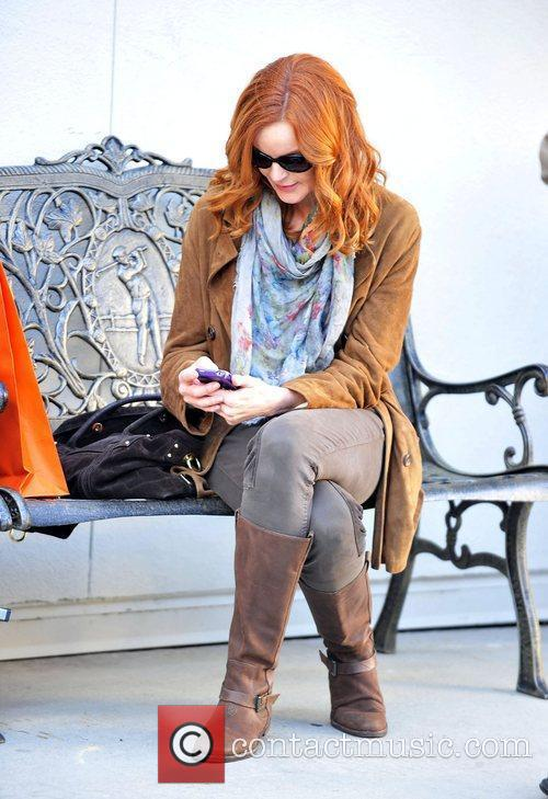 Marcia Cross and Ralph Lauren 1