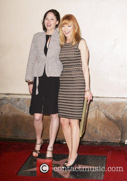 Jorja Fox, Marg Helgenberger and Star On The Hollywood Walk Of Fame 1
