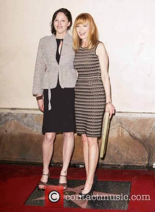 Jorja Fox, Marg Helgenberger and Star On The Hollywood Walk Of Fame 2