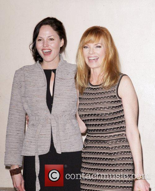 Jorja Fox, Marg Helgenberger and Star On The Hollywood Walk Of Fame 3