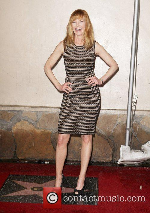 Marg Helgenberger and Star On The Hollywood Walk Of Fame 9
