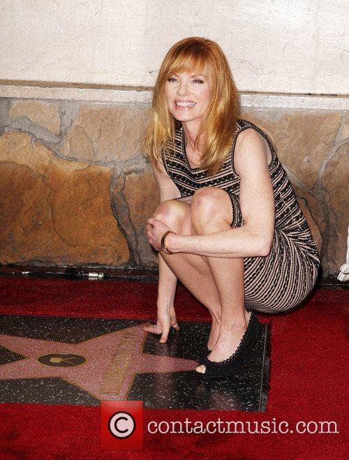 Marg Helgenberger and Star On The Hollywood Walk Of Fame 11