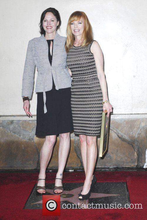 Jorja Fox, Marg Helgenberger and Star On The Hollywood Walk Of Fame 4