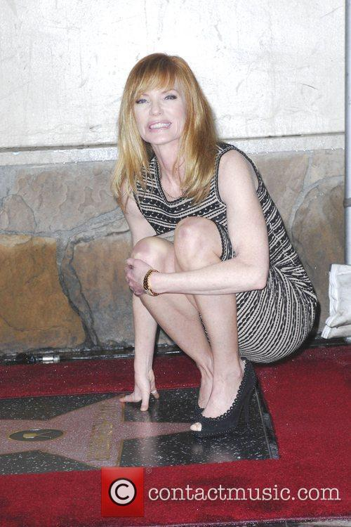 Marg Helgenberger and Star On The Hollywood Walk Of Fame 5