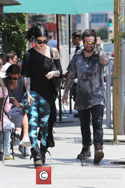 Bam Margera and Kat Von D 2