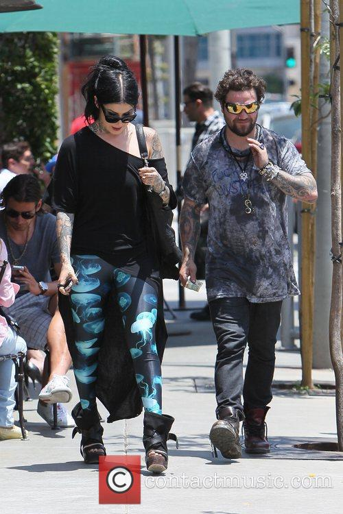 Bam Margera and Kat Von D 3