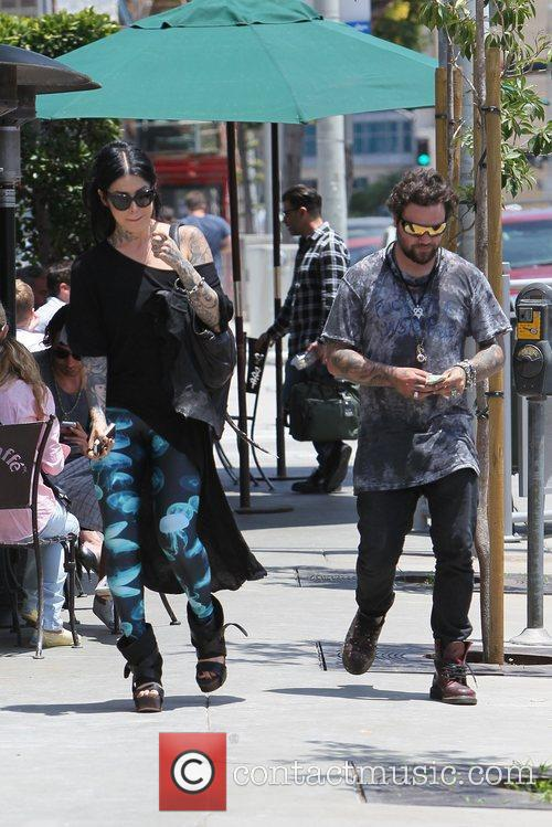 Bam Margera and Kat Von D 5