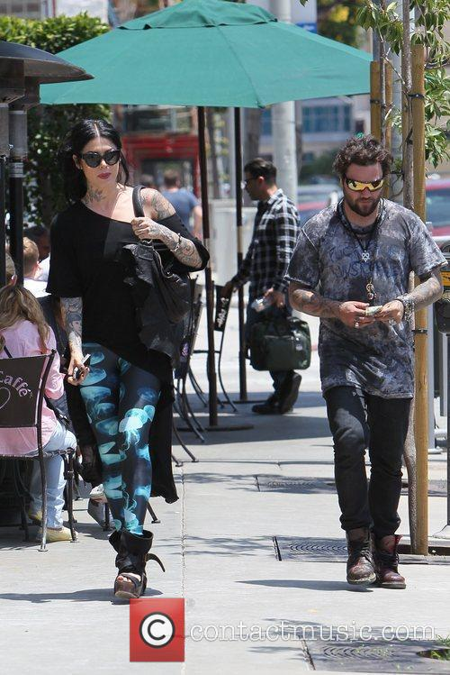 Bam Margera and Kat Von D 6