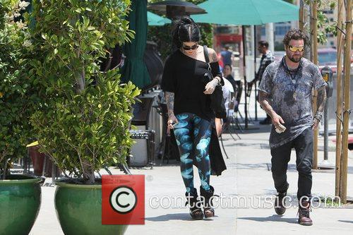 Bam Margera and Kat Von D 7