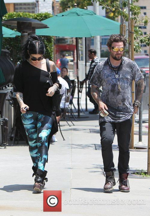 Bam Margera and Kat Von D 8