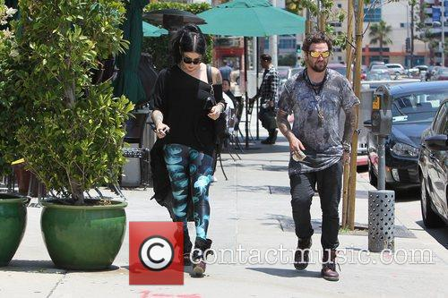 Bam Margera and Kat Von D 9