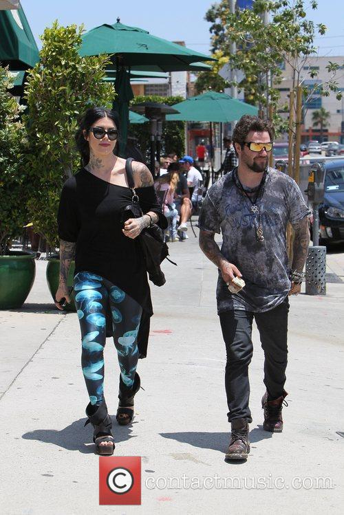 Bam Margera and Kat Von D 10