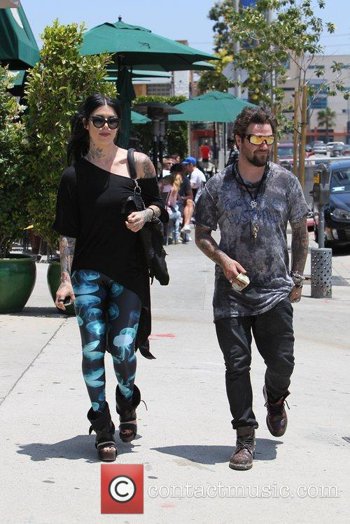 Bam Margera and Kat Von D 11