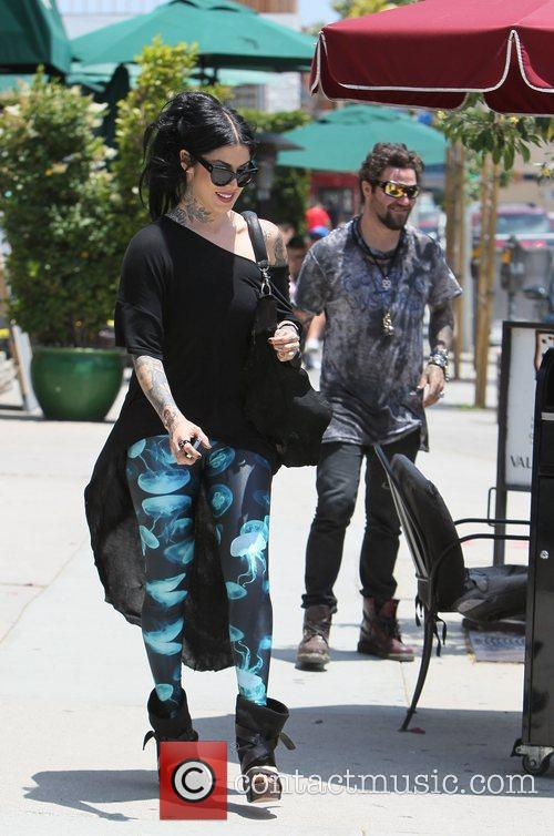 Bam Margera and Kat Von D 14