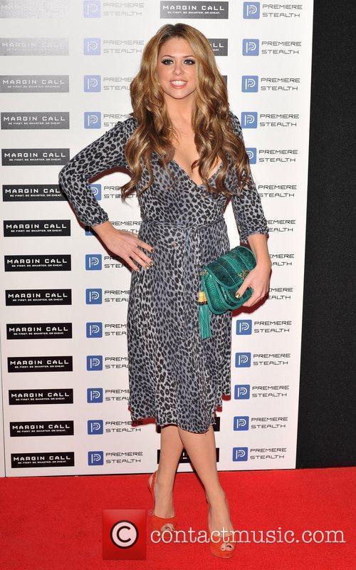 Bianca Gascoigne Margin Call - UK film premiere...