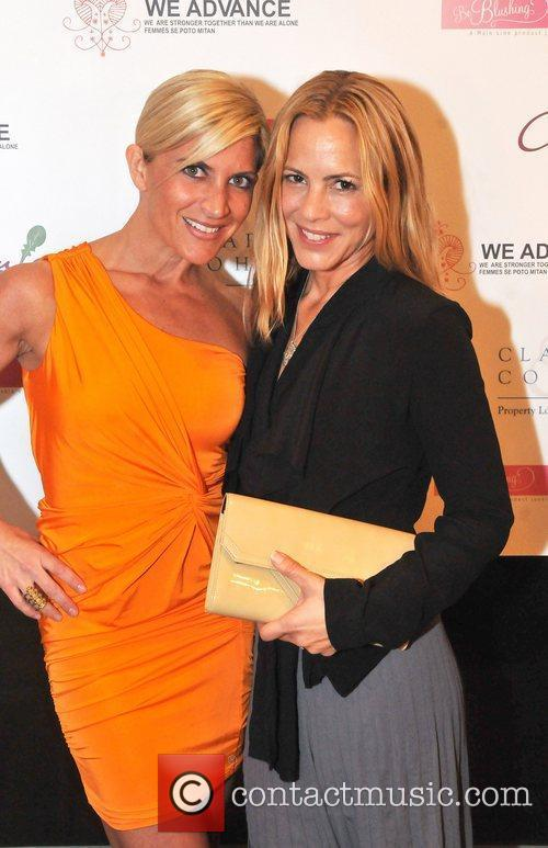 Maria Bello appears at a 'We Advance' Charity...