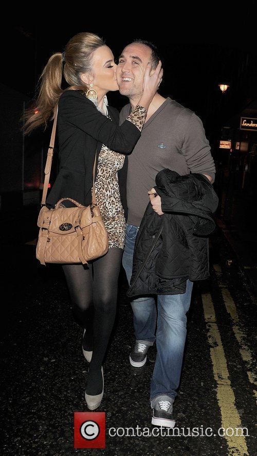 Maria Fowler and her boyfriend Lee Croft leave...