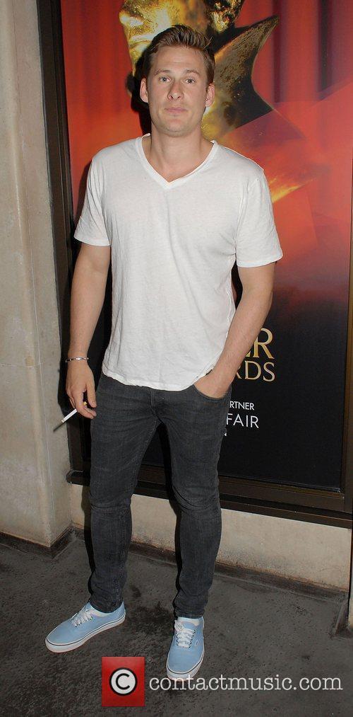 Lee Ryan at the May Fair hotel.