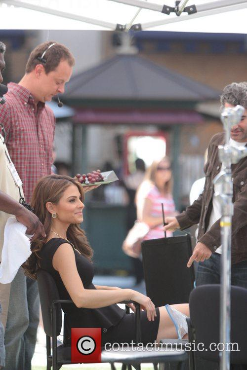 maria menounos is pampered by the production 3771799