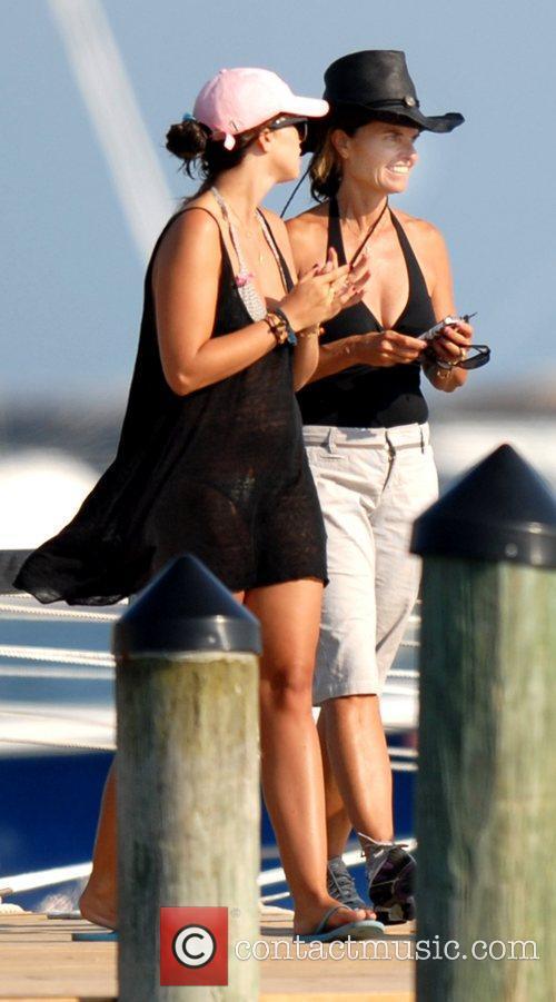 Maria Shriver and Katherine Schwarzenegger 2