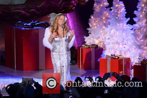 Mariah Carey, Tree Lighting Ceremony and Rockefeller Center 22